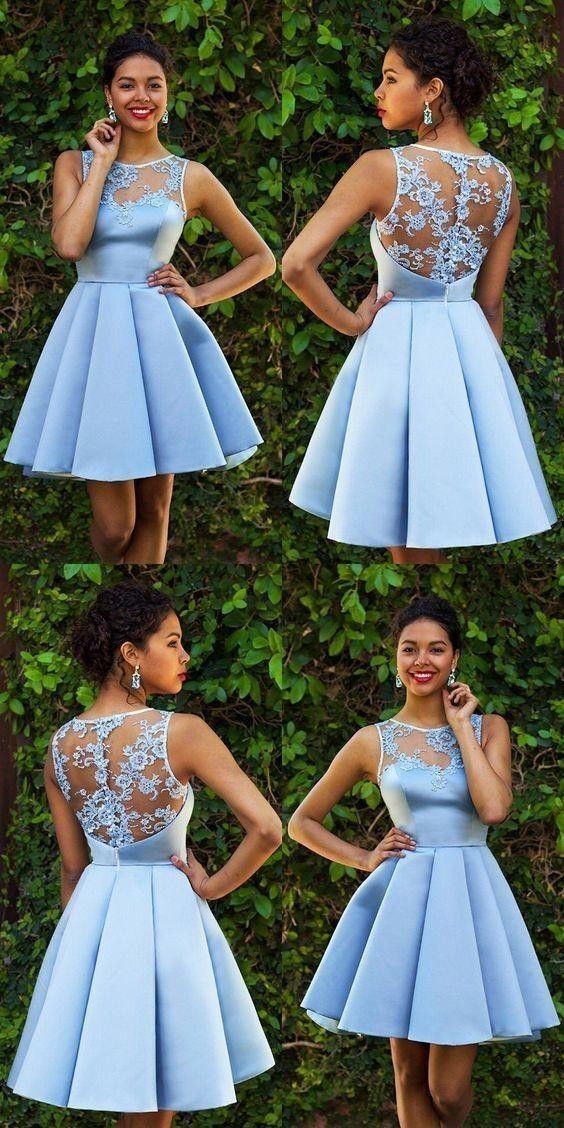 Elegante En 2019 Vestidos Para Graduacion Cortos