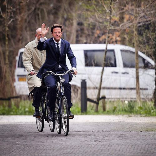 dutch prime minister mark rutte goes to