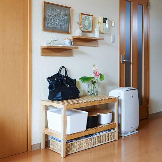 部屋のすっきり度が変わる 帰宅後のかばんの 置き場所 事情 インテリア 収納 リビング 狭い 収納 アイデア リビング