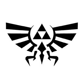The Legend of Zelda - Triforce Symbol Stencil | Diy ...