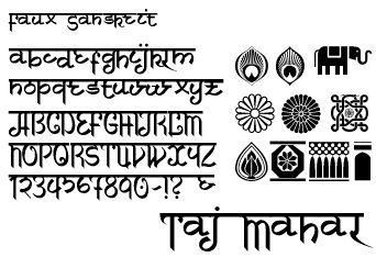 Fonts, Sanskrit and Indian style on Pinterest
