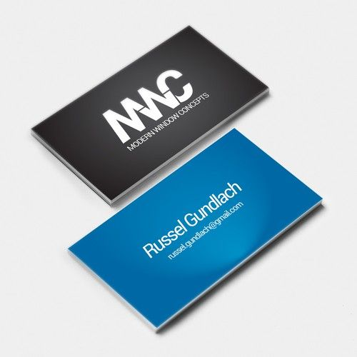 Logo And Business Card Design For A Company Selling Very High End Window And Door Systems Logo Business Card Logo Card Design Business Card Design