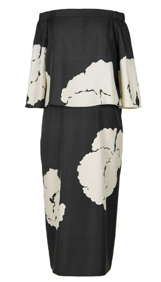 Amara Print Off-the-Shoulder Dress