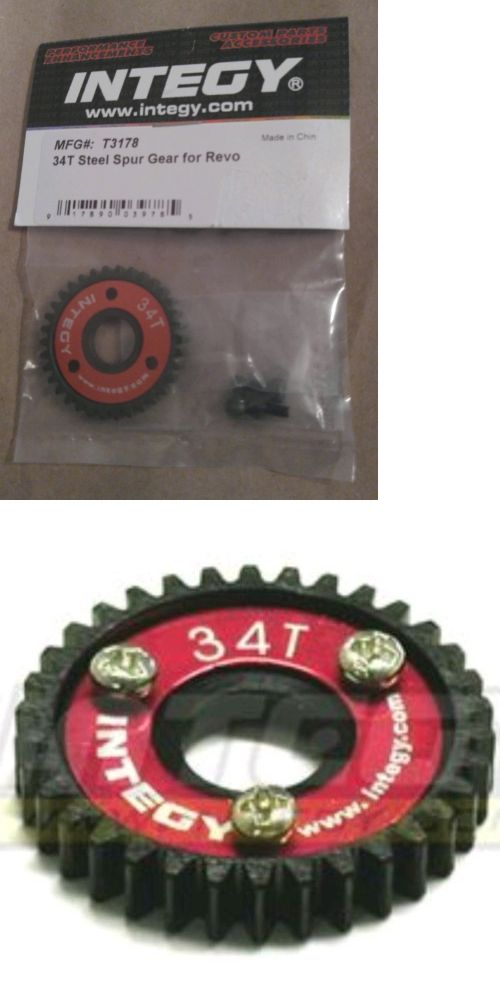 Chassis Drivetrain And Wheels 182196 34 Tooth Mod 1 Spur Gear For Speed Runs Fits Traxxas Rustler E Revo Buy It Now Only 37 Traxxas Rustler Traxxas Revo