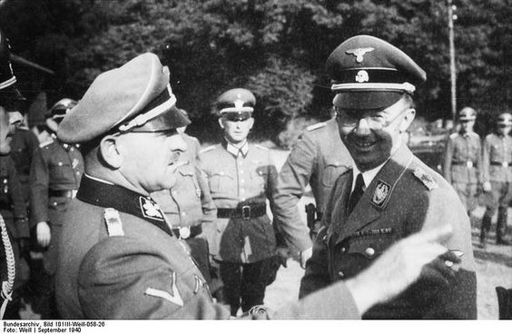 Heinrich Himmler mit Sepp Dietrich | Flickr - Photo Sharing!