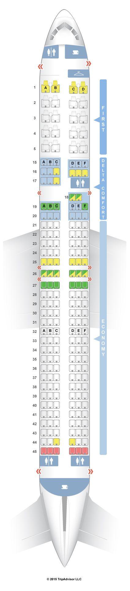 Aer Lingus 757 200 Seat Map Brokeasshome Com