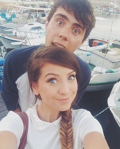 Zoe Sugg and Alfie Deyes | YouTube!