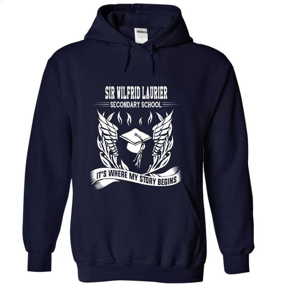 Sir Wilfrid Laurier Secondary School Its where my sto T Shirts, Hoodies, Sweatshirts - #teestars #cool tee shirts. SIMILAR ITEMS => https://www.sunfrog.com/No-Category/Sir-Wilfrid-Laurier-Secondary-School--Its-where-my-story-begins-3369-NavyBlue-Hoodie.html?id=60505