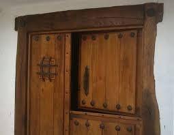 Resultado de imagen de manillas para puertas en hierro forjado