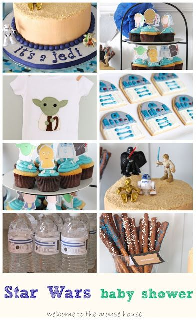 welcome to the mouse house star wars themed baby shower