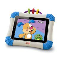 Fisher Price iPad Case Protects  Home Button! We so need this!! -  Pinned by @PediaStaff – Please Visit http://ht.ly/63sNt for all our pediatric therapy pins.