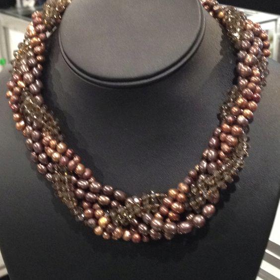 Chocolate pearls