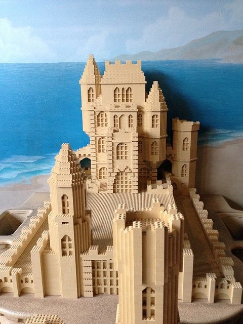 Lego Sandcastle At Sea Life Aquarium In Carlsbad
