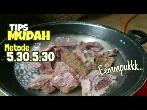 Trik Mudah Mengempukkan Daging Agar Daging Cepat Empuk Dan Hemat Gas Berikut Tehnik Mengempukkan Daging Dengan Bahan Daging Makanan Dan Minuman Resep Masakan