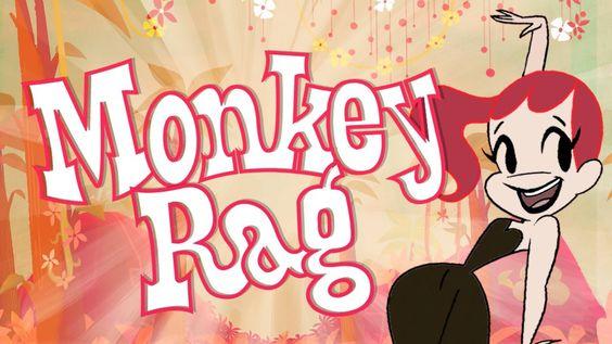 Monkey Rag - An Animated Short by Joanna Davidovich   ♥ ♥ ♥ ♥