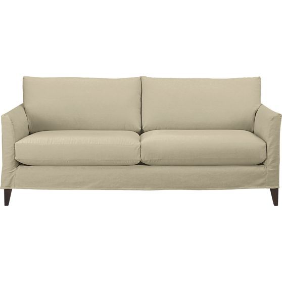 Petrie Leather 100 Grande Sofa Crate And Barrel Crates And Sofas