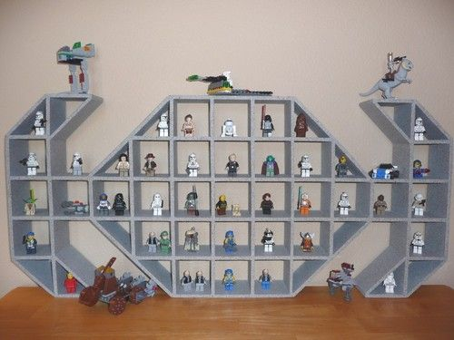 Star Wars TIE Fighter Children's Wood Display Shelf - I Want This!