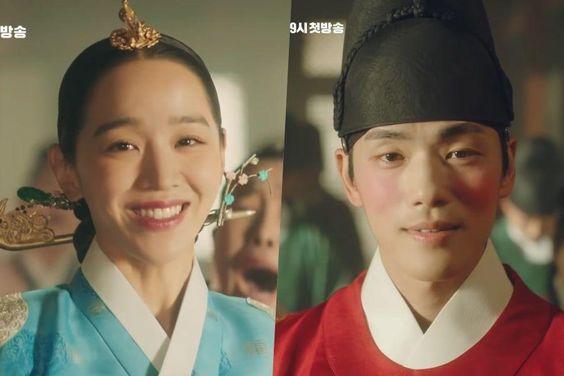 "Watch: Shin Hye Sun's Antics Surprise Kim Jung Hyun In Comedic ""Mr. Queen"" Teaser"