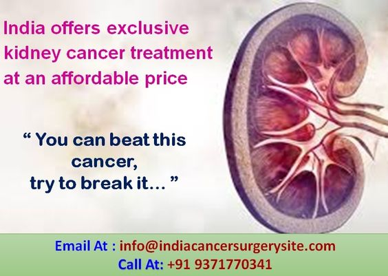 India offers exclusive kidney cancer treatment at an affordable price