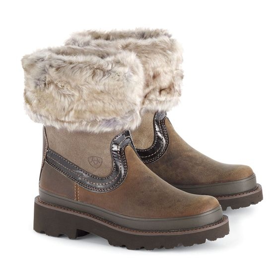 I LOVE these boots! So warm and cozy for winter &lt3 Ariat Fur