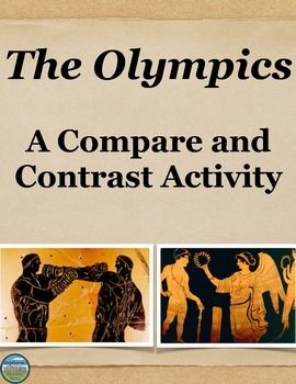 """an analysis of the ancient olympic games in contrast to the modern world """"it is clear that the telegraph, railways, the telephone, the passionate research in science, congresses and exhibitions have done more for peace than any treaty or diplomatic convention well, i hope that athletics will do even more let us export rowers, runners and fencers: there is the free trade of the."""