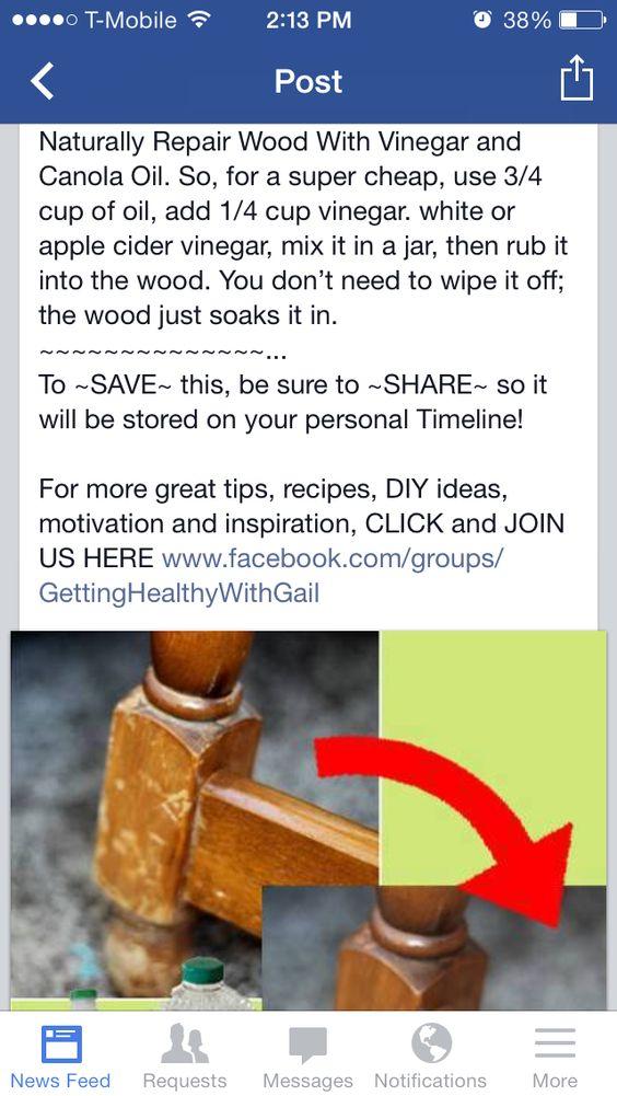 How to repair wood
