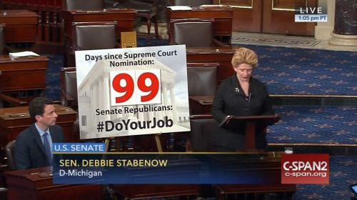 Who: Senator Debbie Stabenow (D-Michigan) When: June 2016 What:...