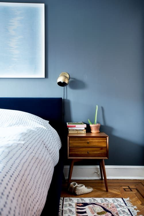 15 Beautiful Blue Bedrooms To Inspire Your Next Refresh Small Bedroom Colours Blue Bedroom Ideas For Couples Blue Bedroom Walls