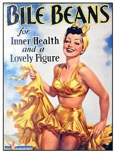 Vintage Advertising Bile Beans