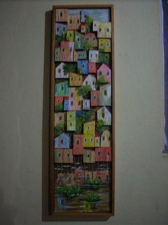palafitas em madeiras de lei (vindas de manejo florestal) - R$600.00