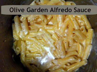 Olive Garden Alfredo Sauce Eat This Pinterest Gardens Winter And Olive Garden Alfredo Sauce