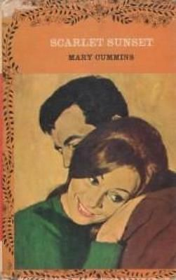 Scarlet Sunset - Mary Cummins - Mills & Boon - Acceptable - Hardcover