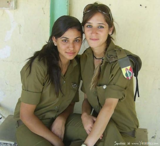 israeli army girls thong