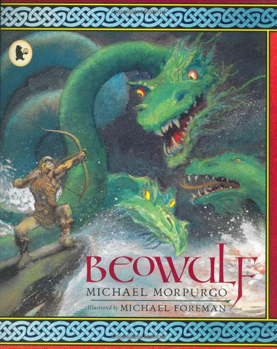 Book has same title as main character...Beowulf.?