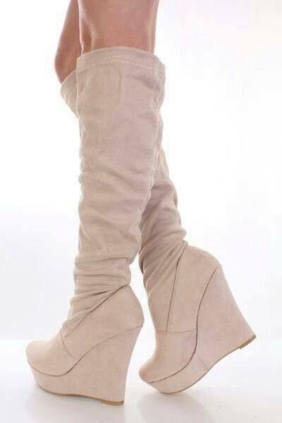 Mule knee hi boots