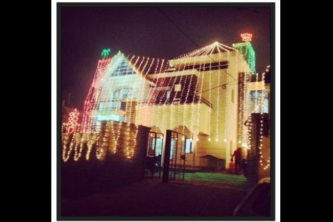 Indian Punjabi Wedding House Lights Jaggo Maiyan Parties Punjabi