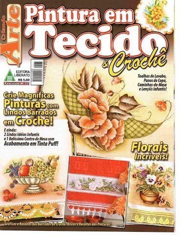 PINTURA EM TECIDO & crochê TG rev - terepintecido - Picasa Web Albums...FREE MAGAZINE!