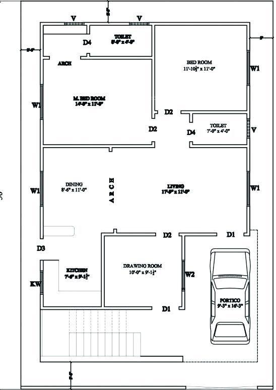 Duplex House Plans For 30 40 Site North Facing 30 40 House X Floor 30x40 House Plans Duplex House Plans 30x50 House Plans