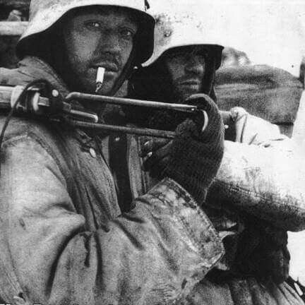 Whermacht soldier Ukraine 1944.