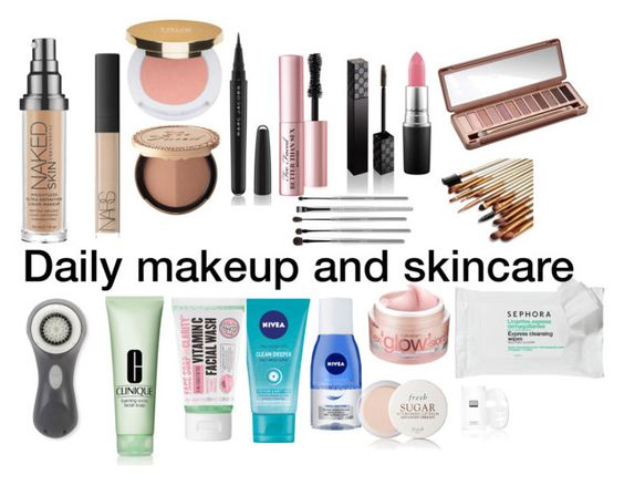"""""""Daily makeup and skincare"""" by itssssbri13 ❤ liked on Polyvore featuring beauty, Urban Decay, NARS Cosmetics, Isaac Mizrahi, Too Faced Cosmetics, Marc Jacobs, Gucci, MAC Cosmetics, Nivea and esum"""
