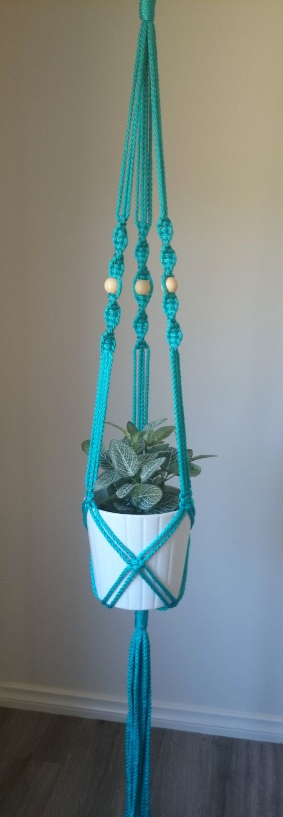 macrame pot plant hanger elwood by thecolouredknot on etsy macrame weaving. Black Bedroom Furniture Sets. Home Design Ideas