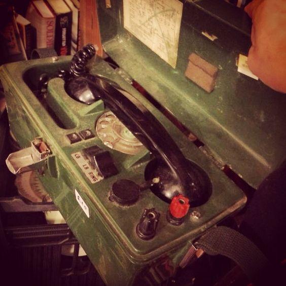 Bygone telephone prop!