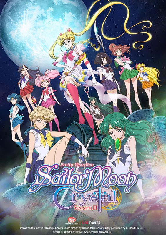 Viz Media Announces the Digital Simulcast Premiere of Latest Season of Sailor Moon Crystal,   First Episode of the New Season of Reimagined Fantasy Action Series Based on the Classic Anime Saga to Stream on Same Day as the Japanese Broadcas...,  #Anime #Hulu #Manga #NaokoTakuechi #News #PressRelease #SailorMoon #SailorMoonCrystal #VIz #VizMedia: