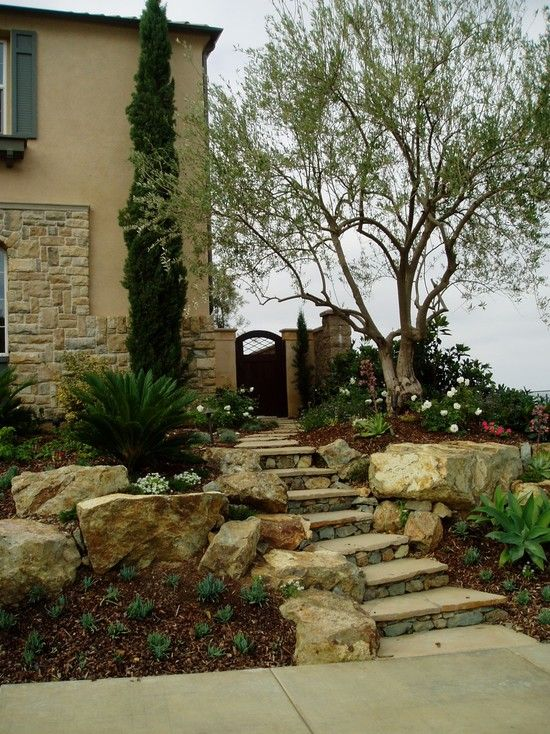 Mediterranean Garden Design Image Magnificent Decorating Inspiration