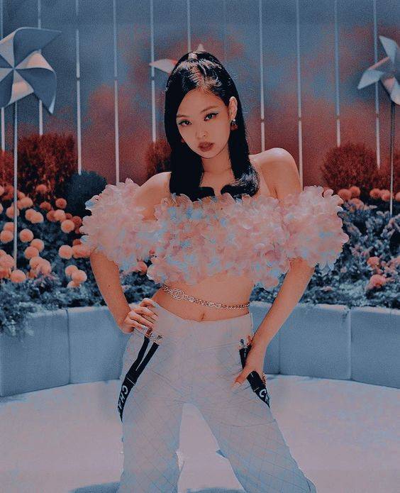 Ice Cream Mv In 2021 Cream Outfits Blackpink Fashion Fashion