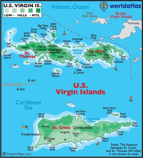 St Thomas St Croix Afp Cv - Map-of-st-john-us-virgin-islands