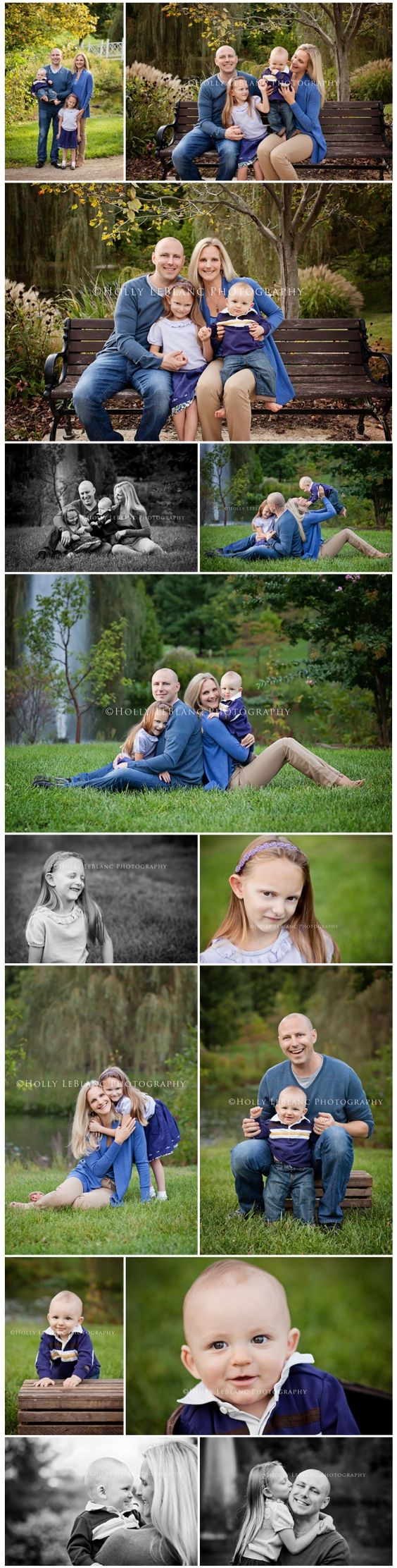 Outdoor Family Portraits | NJ Child and Baby Photographer - Holly LeBlanc Photography