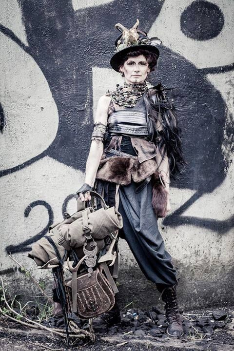 CRAFTING HANDBOOK  CREATE A POST-APOCALYPTIC OUTFIT crafting, DIY, #doityourself