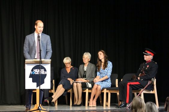 """Kelly Mathews on Twitter: """"Prince William gives speech in #Harlow about @heads_together @BBCWorld"""