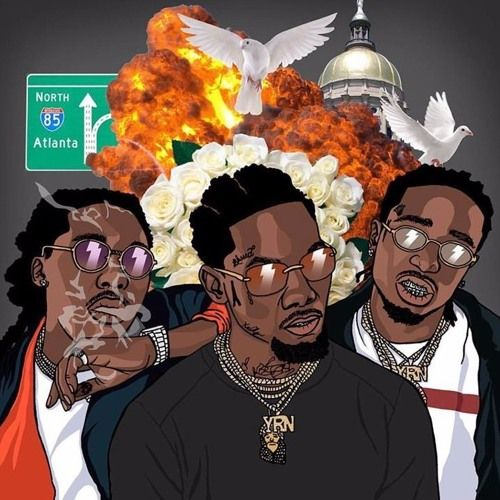 Migos Type Beat 2017 X Gucci Mane X Young Dolph Money Bag Free Type Beat I Rap Trap Instrumental By Burna Vision Https Migos Wallpaper Rapper Art Trap Art Gucci mane supreme wallpaper
